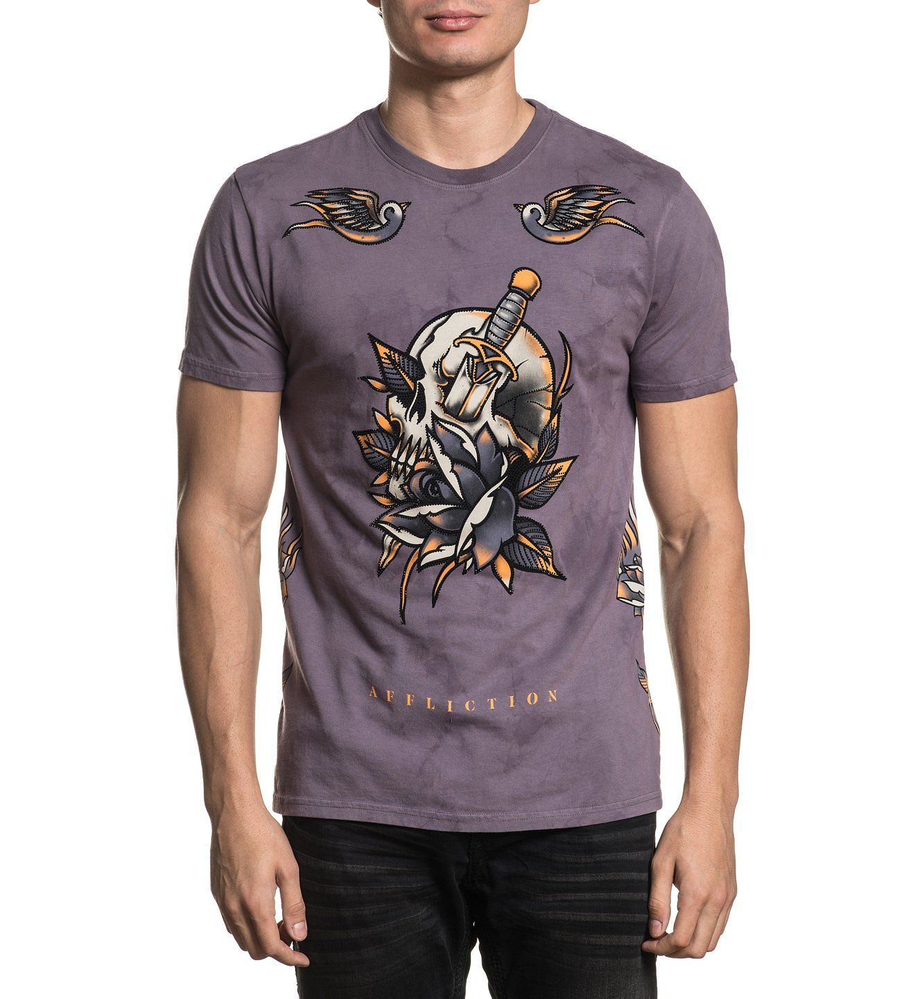 Soul Sacrifice - Mens Short Sleeve Tees - Affliction Clothing