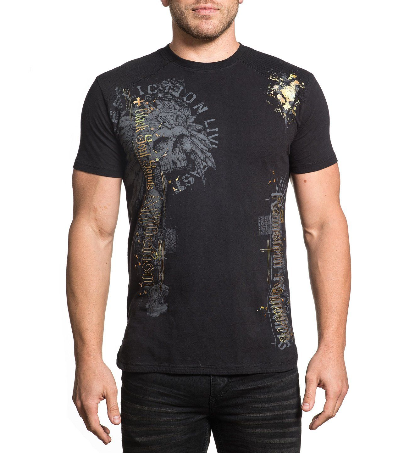 Mens Short Sleeve Tees - Soul Saint