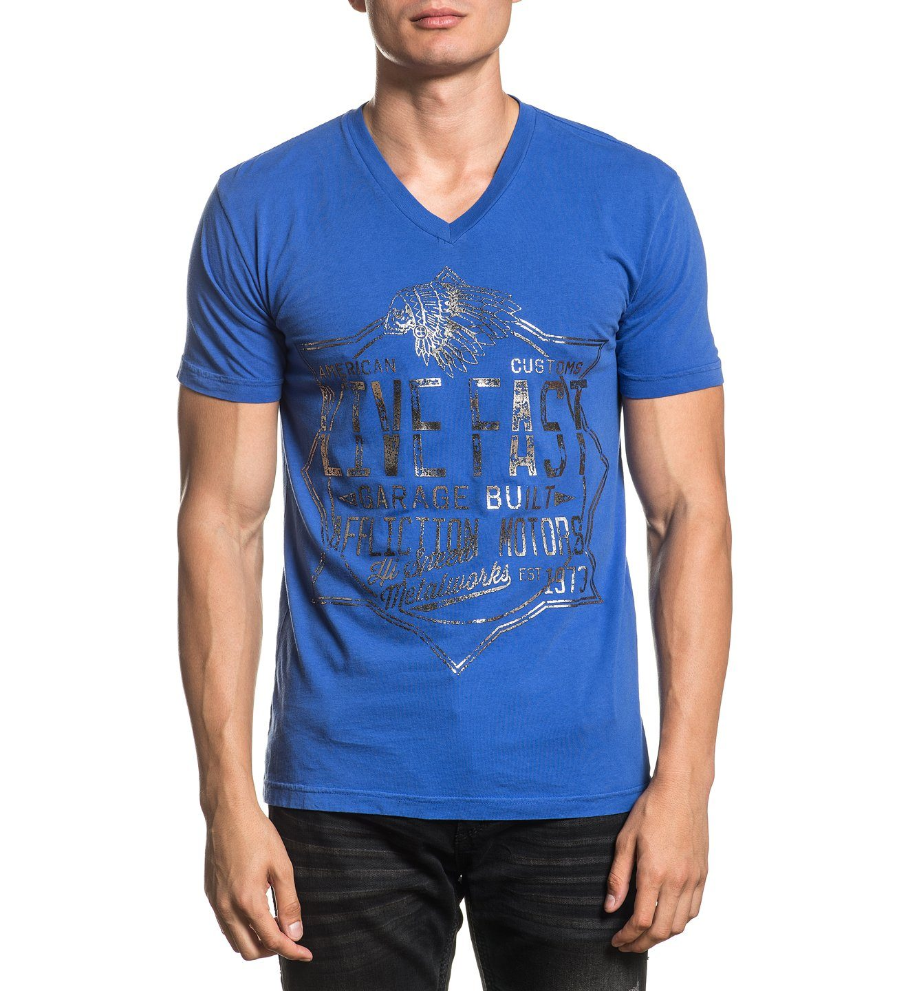 Mens Short Sleeve Tees - Speed Metalworks