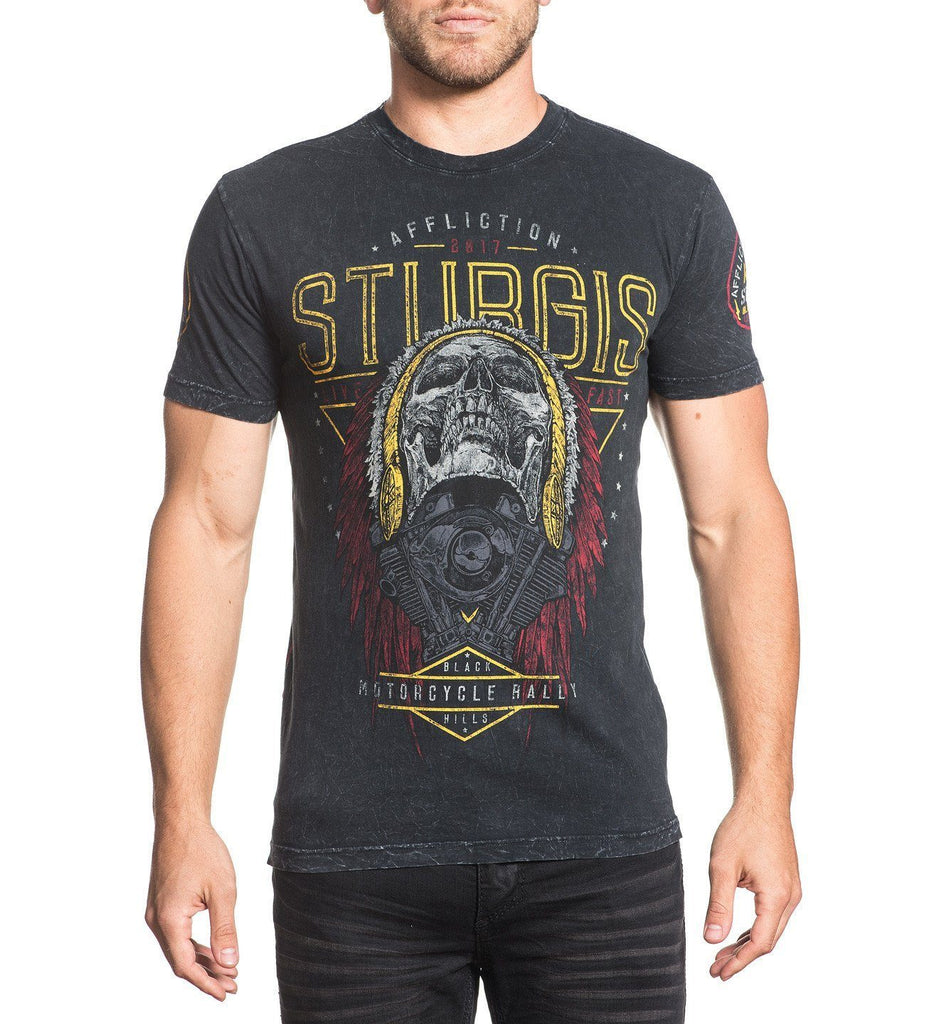 Mens Short Sleeve Tees - Sturgis 2017