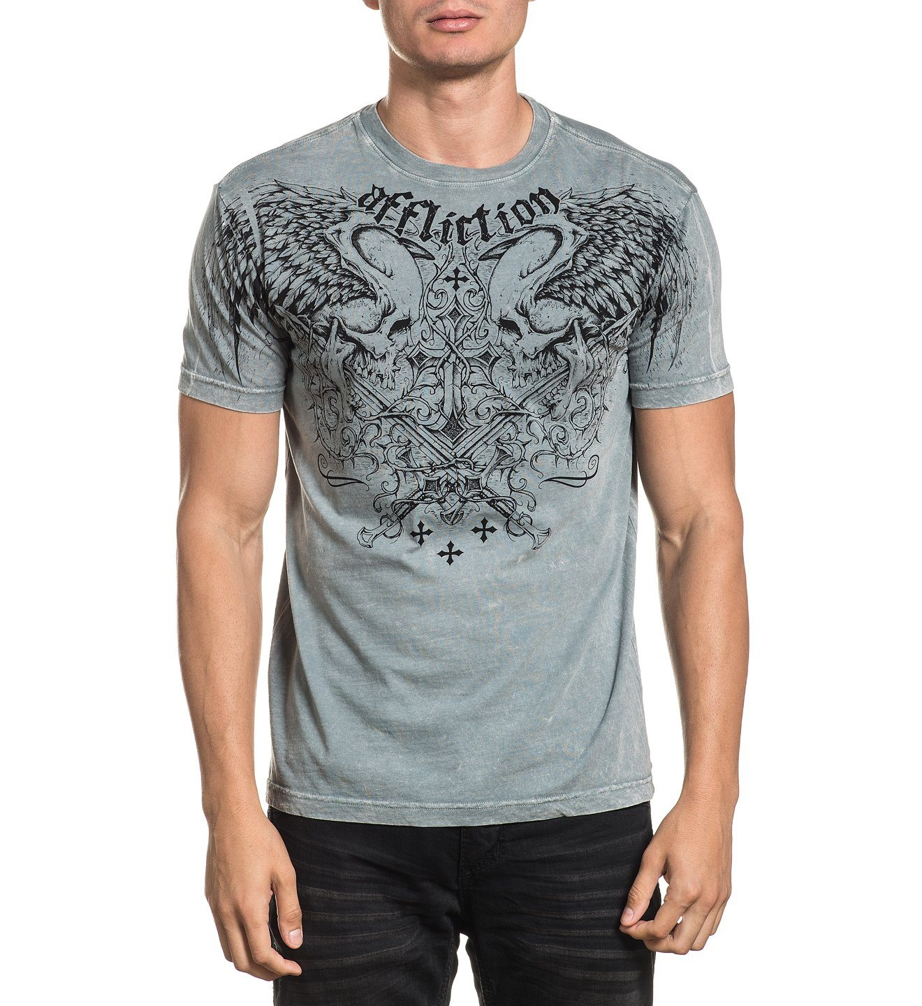 Sword Eater - Mens Short Sleeve Tees - Affliction Clothing