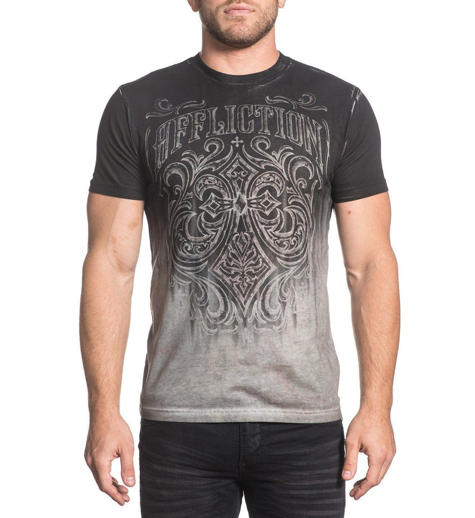 Mens Short Sleeve Tees - Tarnished Ironside