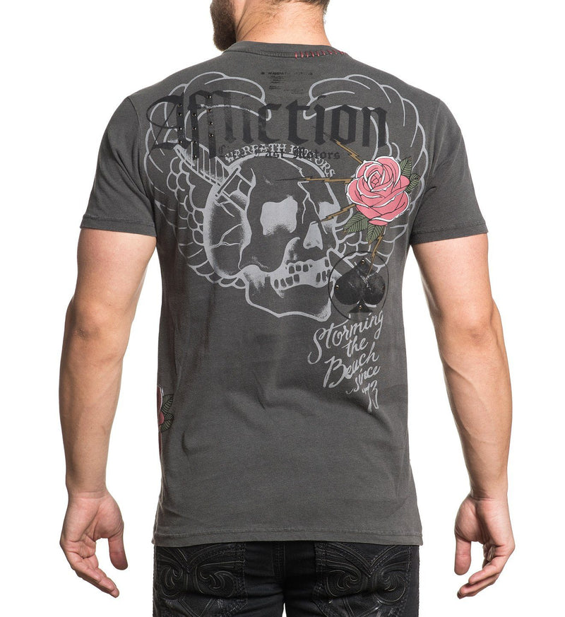 The Beach - Mens Short Sleeve Tees - Affliction Clothing