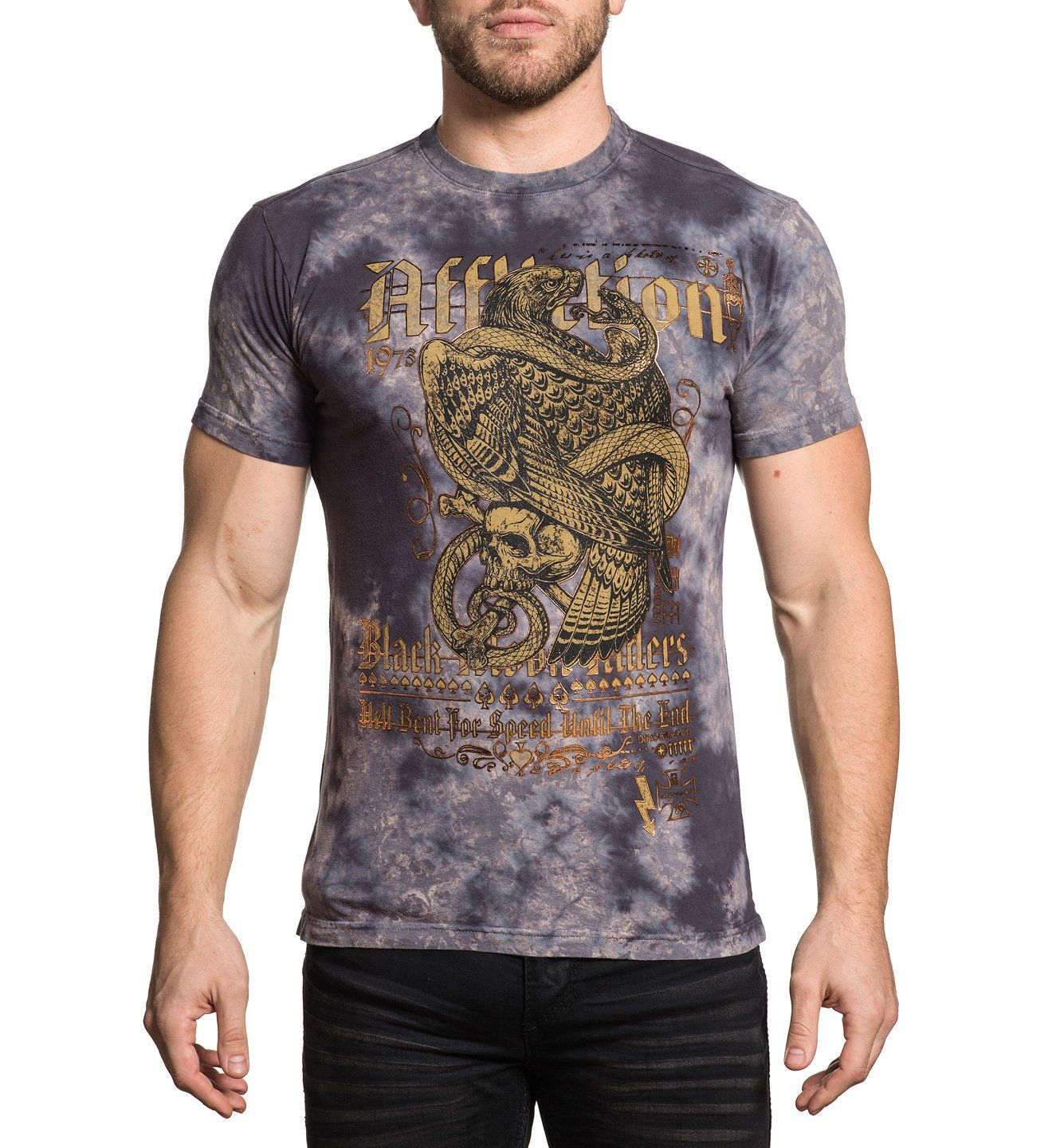 The End - Mens Short Sleeve Tees - Affliction Clothing