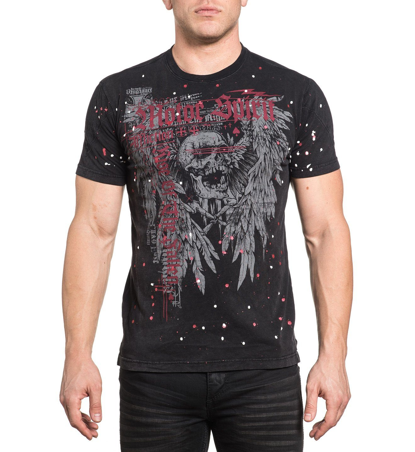 The Rise - Mens Short Sleeve Tees - Affliction Clothing