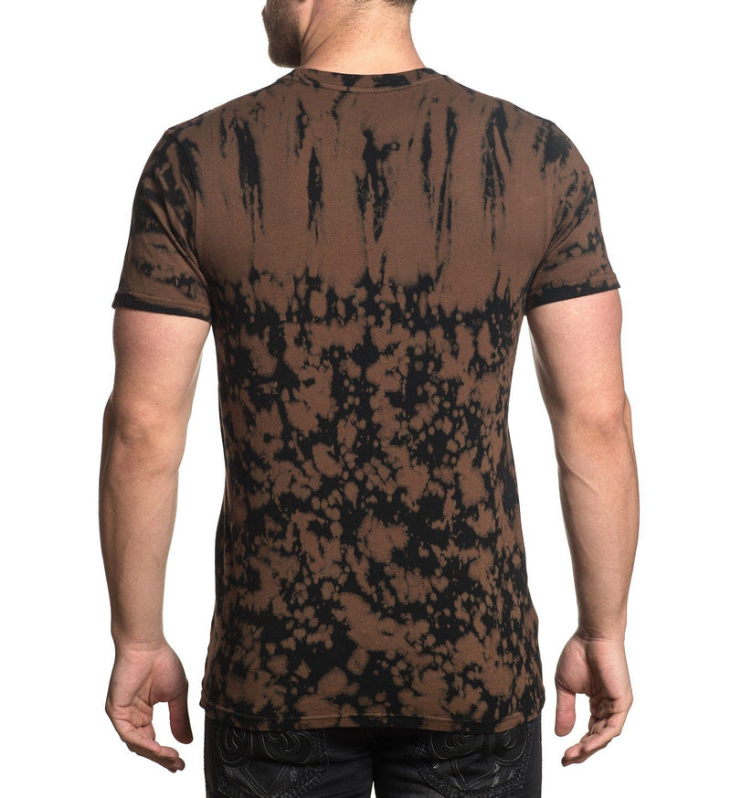 Tiger Rose - Mens Short Sleeve Tees - Affliction Clothing