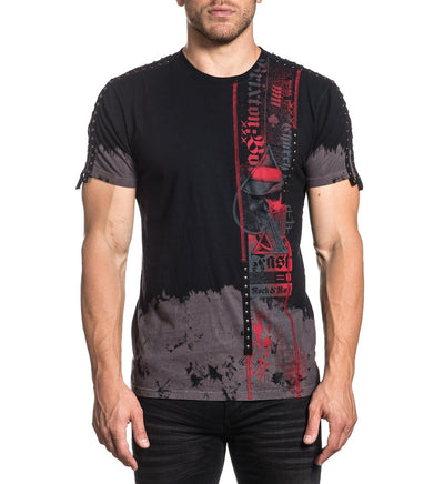 Time Will Tell - Mens Short Sleeve Tees - Affliction Clothing