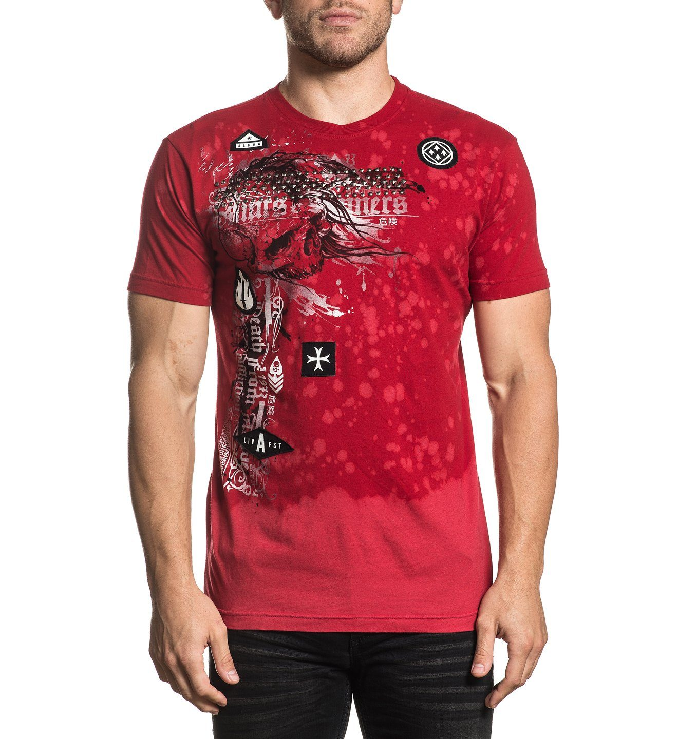 Mens Short Sleeve Tees - Torn Apart