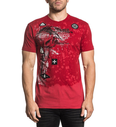 Torn Apart - Mens Short Sleeve Tees - Affliction Clothing