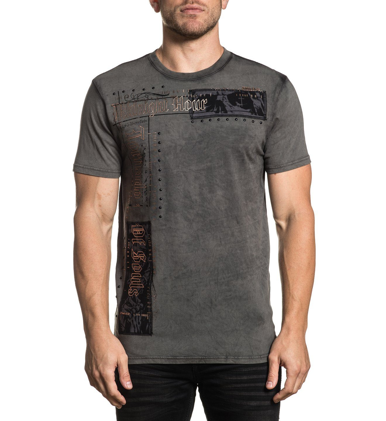 Tornado - Mens Short Sleeve Tees - Affliction Clothing