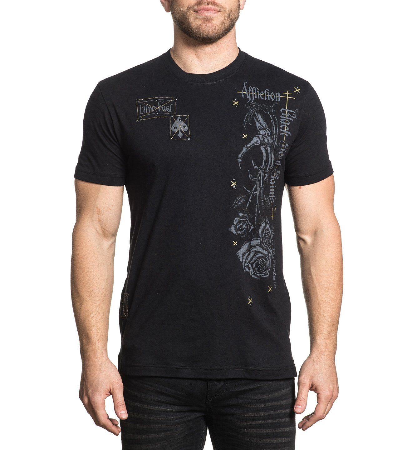 Mens Short Sleeve Tees - Tornado Souls