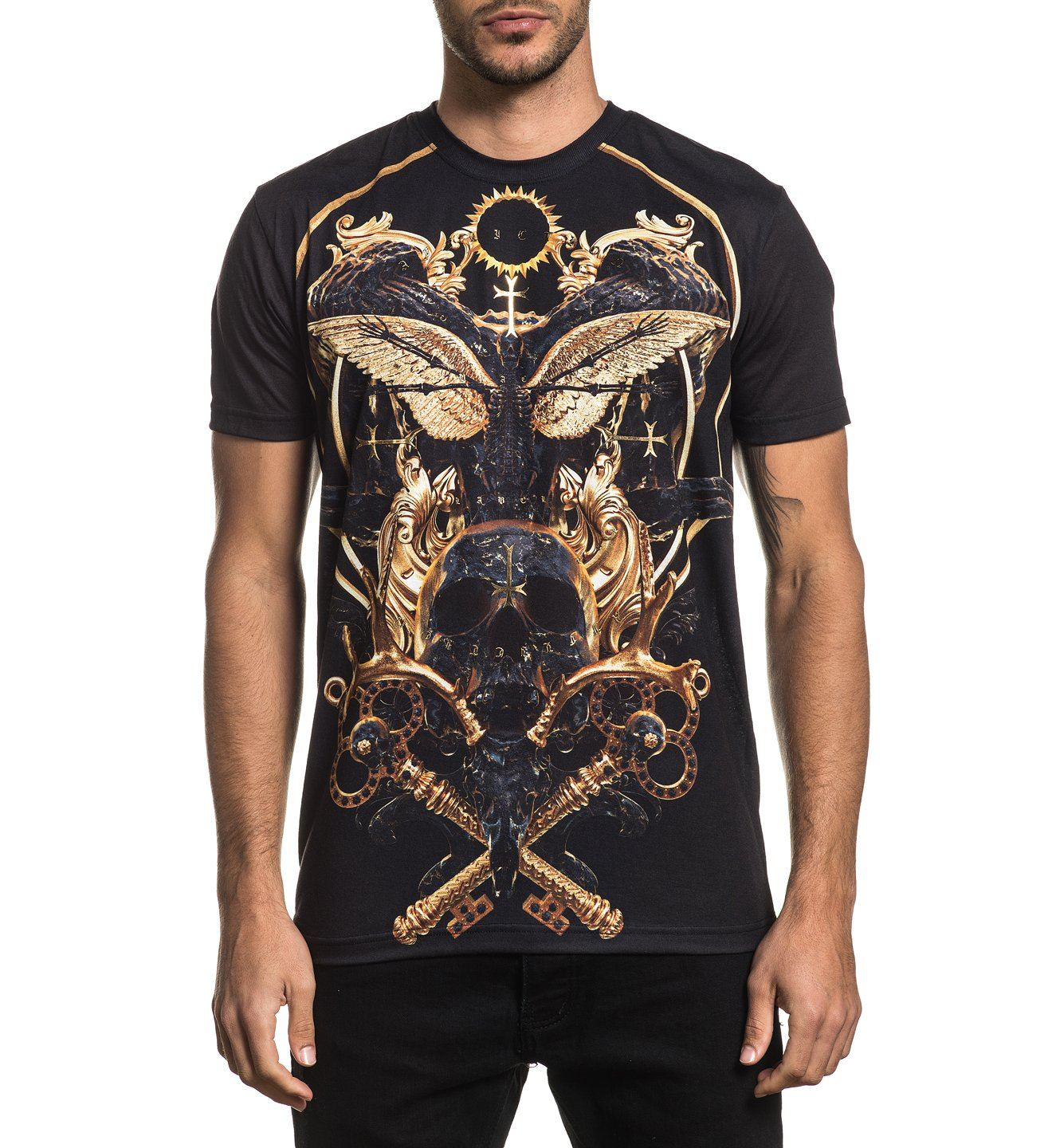 Mens Short Sleeve Tees - Totem
