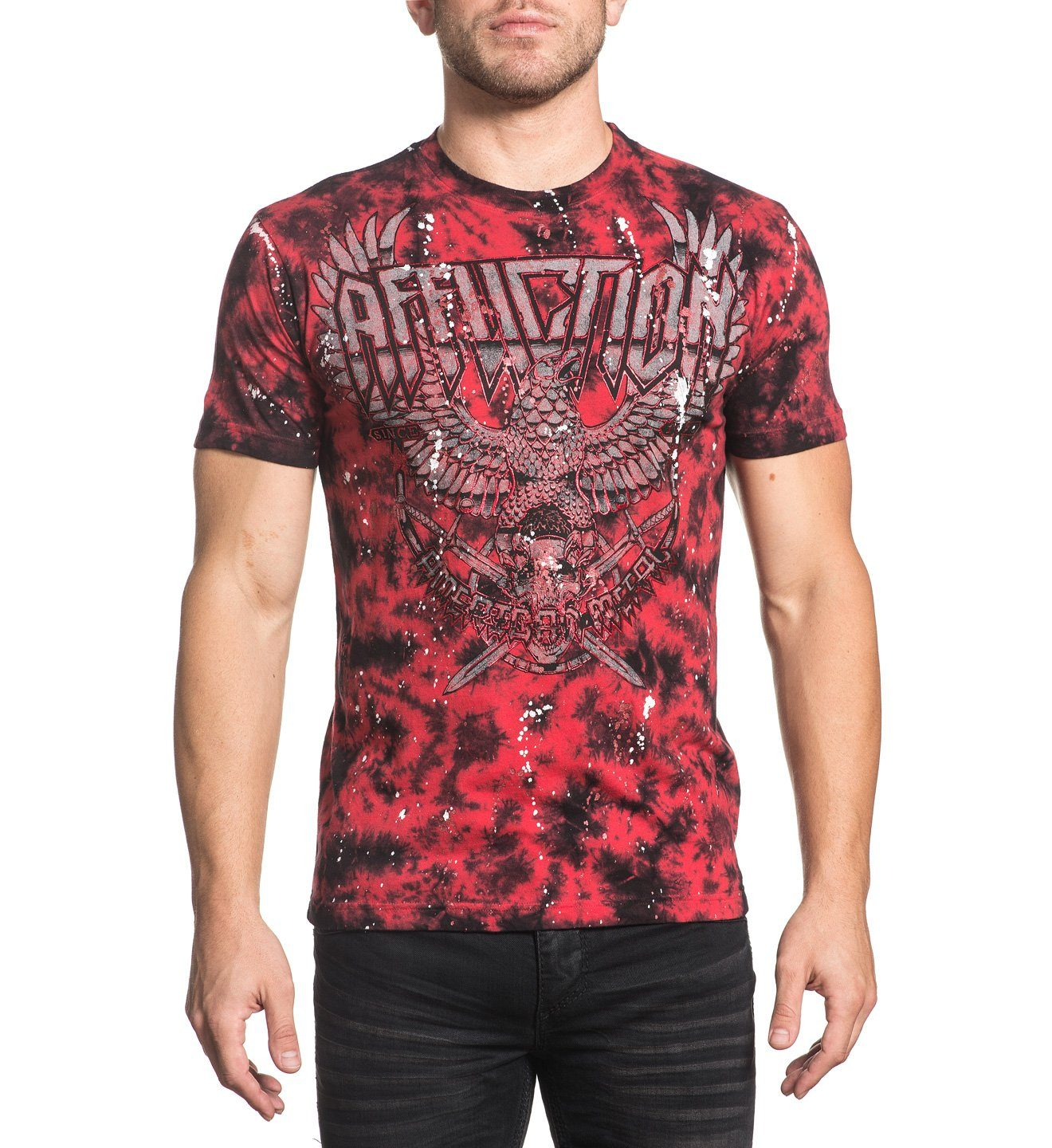 Tour Storm - Mens Short Sleeve Tees - Affliction Clothing