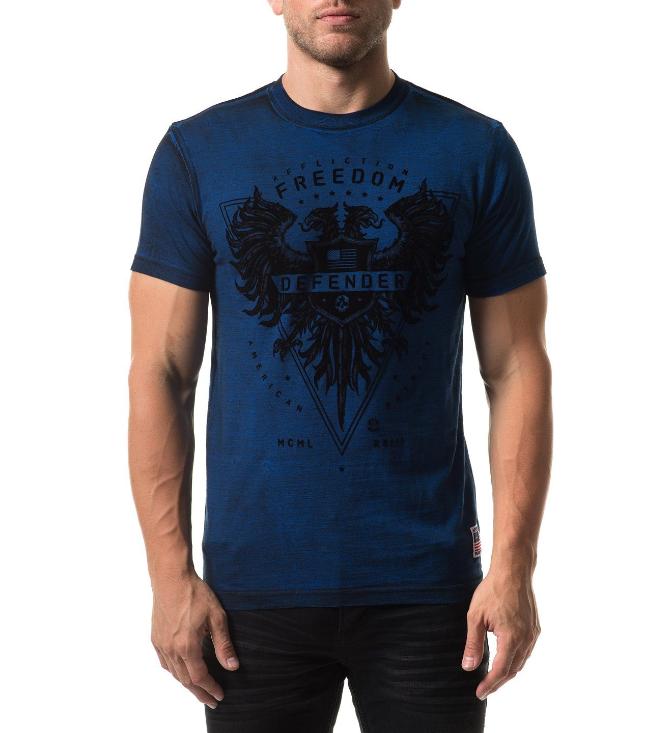Mens Short Sleeve Tees - Usa Freedom