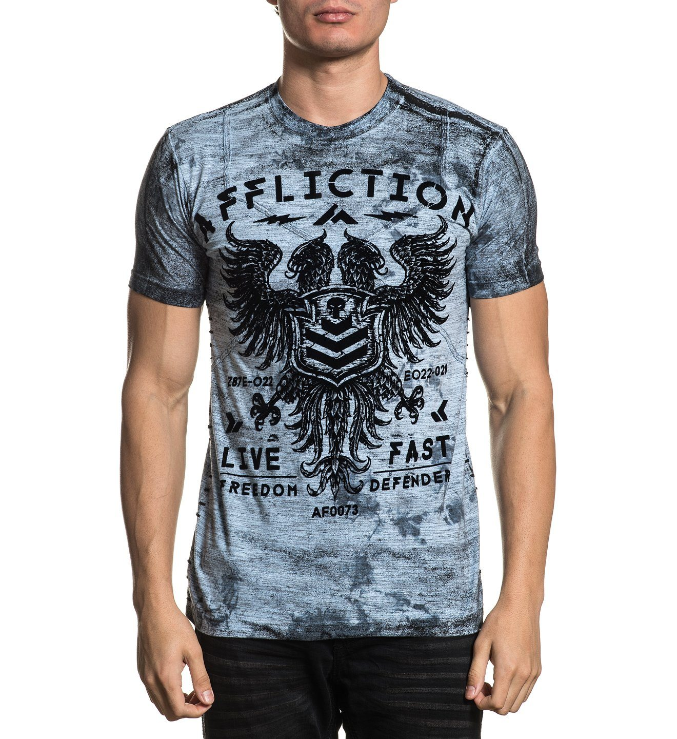 Value Freedom Dusk - Mens Short Sleeve Tees - Affliction Clothing