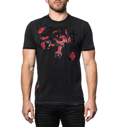 Venomous - Mens Short Sleeve Tees - Affliction Clothing