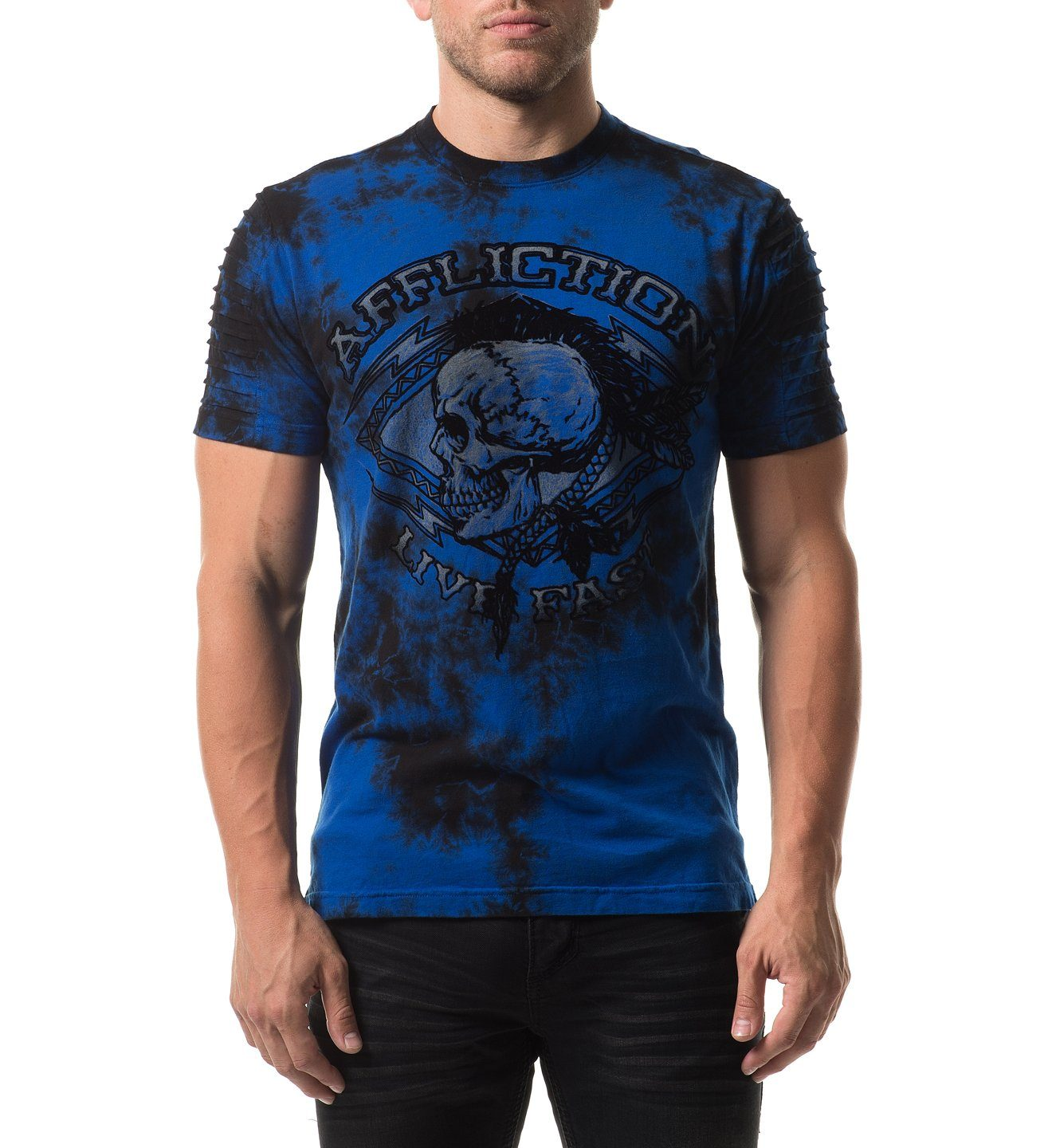 Warpath Chalkboard - Mens Short Sleeve Tees - Affliction Clothing