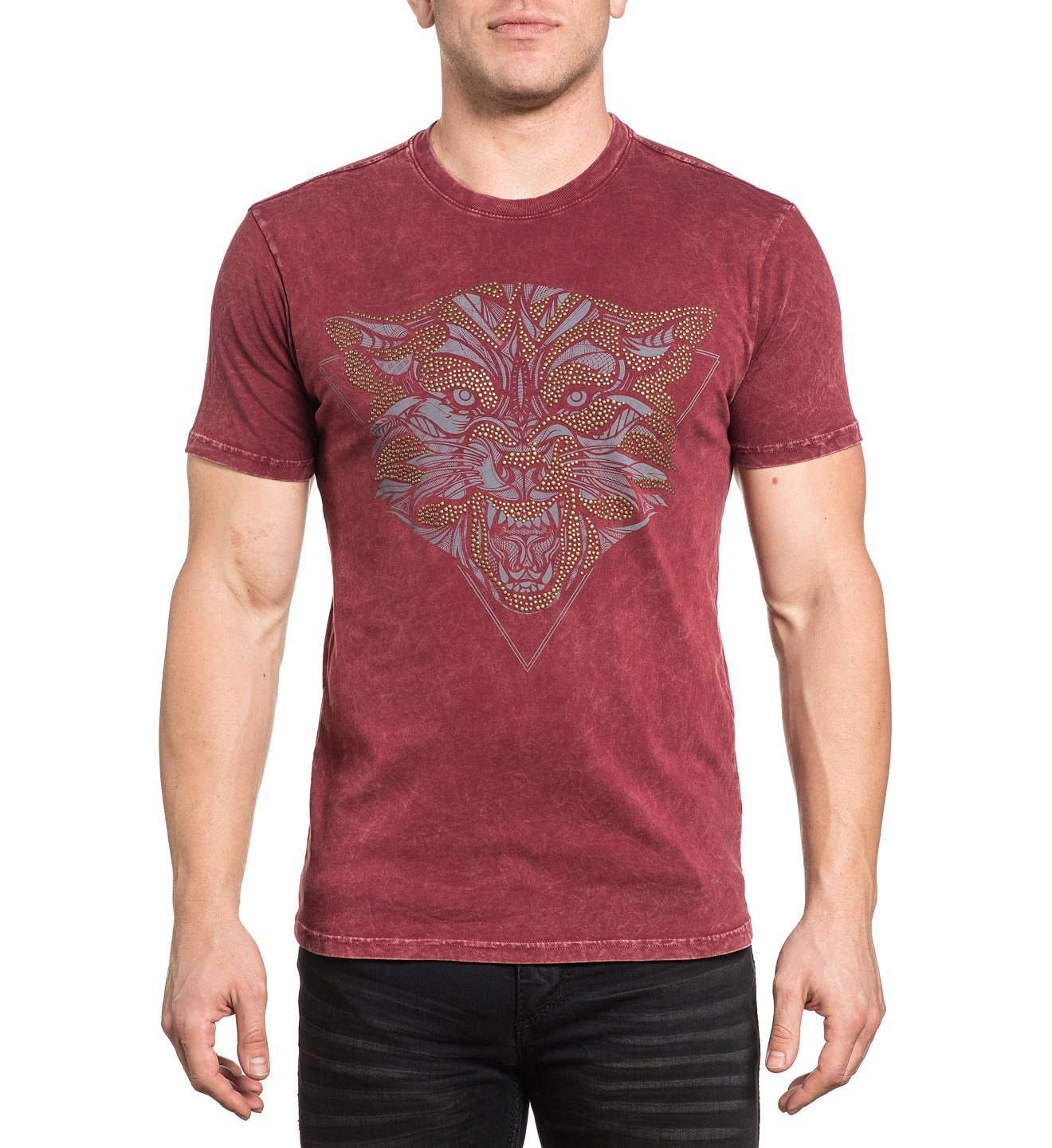 Wolfsbane Haze - Mens Short Sleeve Tees - Affliction Clothing