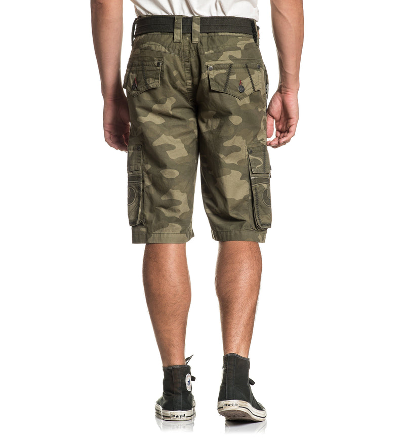 Negotiate Cargo Short - Mens Shorts And Boardshorts - Affliction Clothing