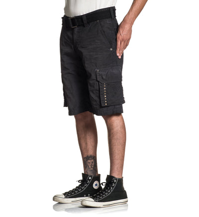 Optimal Cargo Short - Mens Shorts And Boardshorts - Affliction Clothing