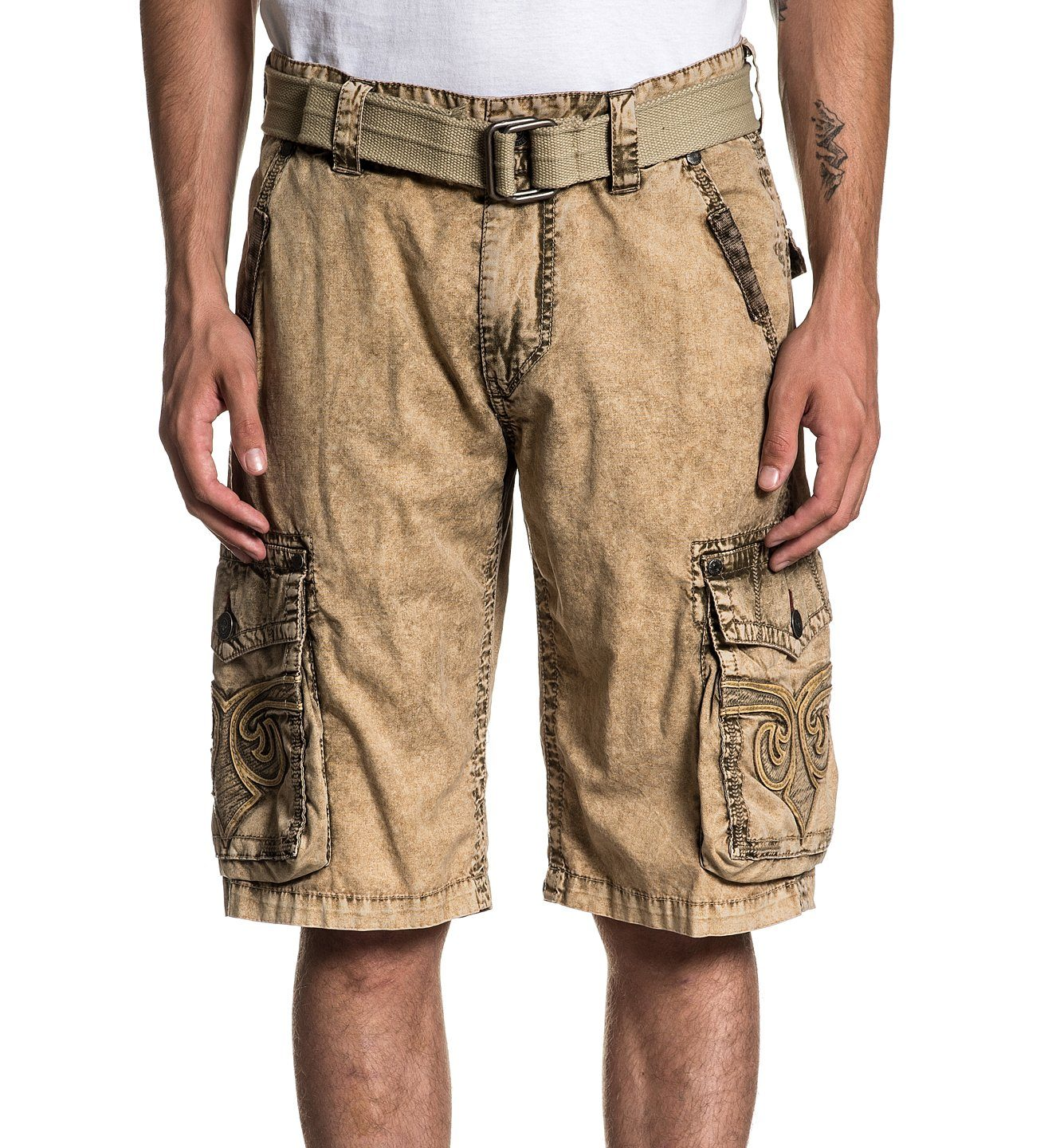 c6f762d655 Revival Cargo Short - Mens Shorts And Boardshorts - Affliction Clothing
