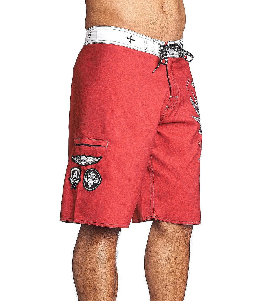 Mens Shorts And Boardshorts - Royale Rust Boardshort