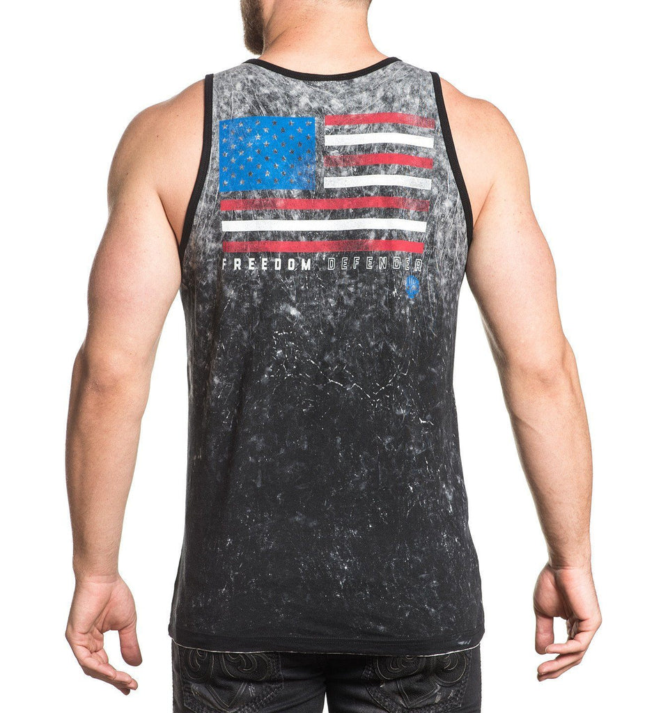 Mens Tank Tops - Live Fast - Reversible