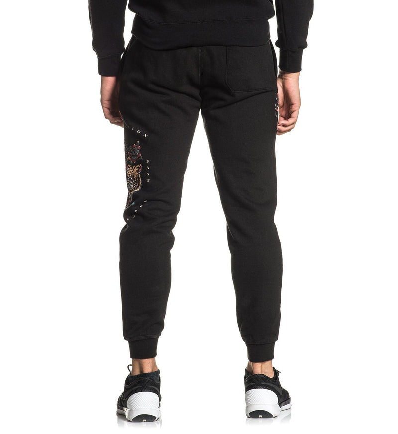 Screaming Dagger Jogger - Mens Track Jackets And Pants - Affliction Clothing