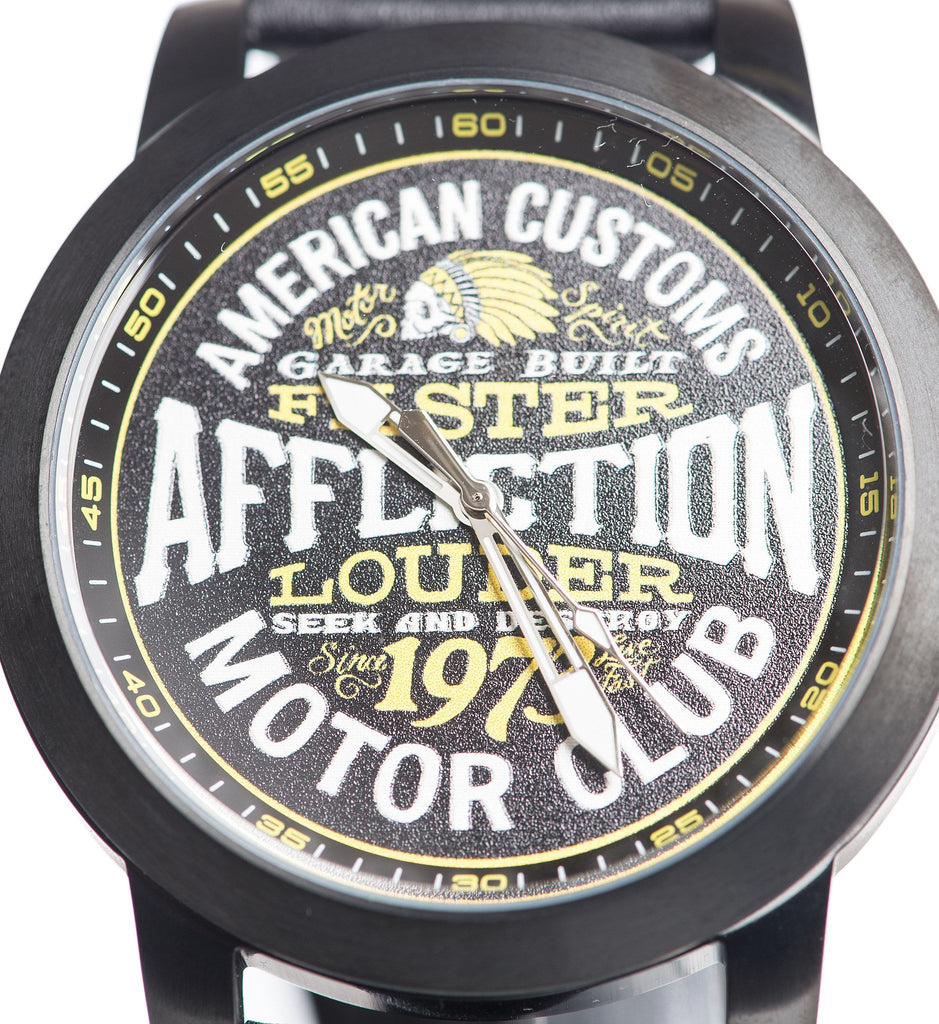Mens Watches - AC Motor Club Watch
