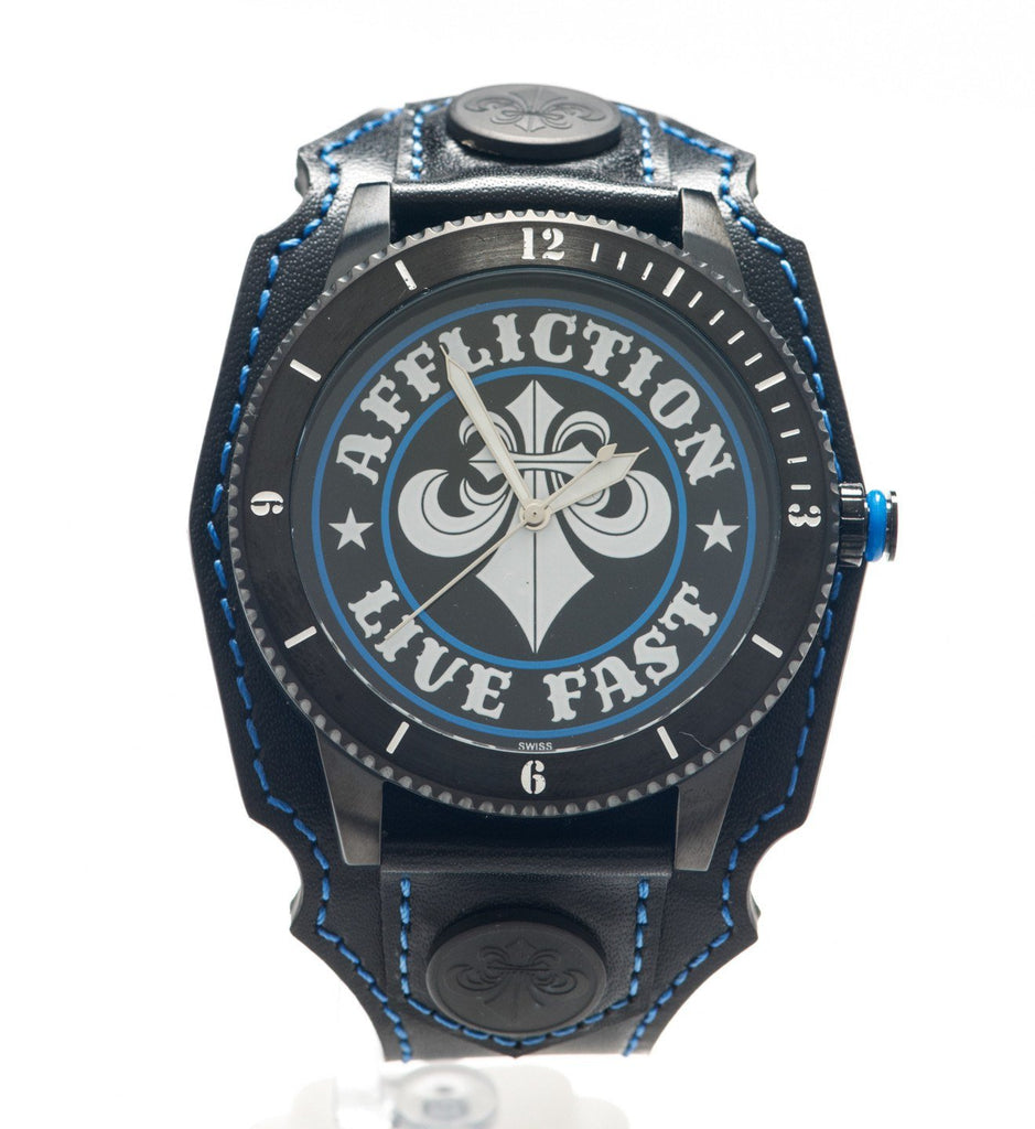 Mens Watches - Affliction Live Fast Unisex Watch