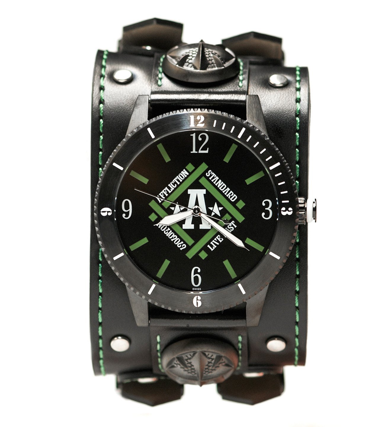 Affliction Standard Wide Strap Watch - Mens Watches - Affliction Clothing