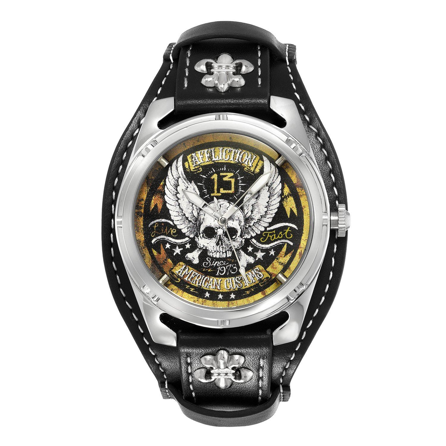 Cross Bones Watch - Mens Watches - Affliction Clothing