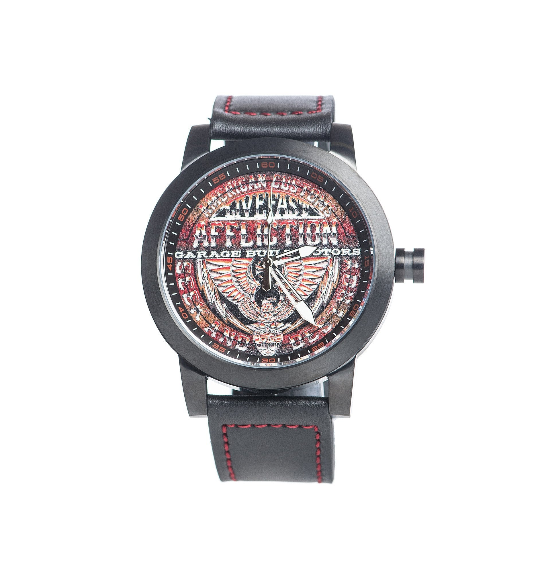 Garage Built Motors Watch - Mens Watches - Affliction Clothing