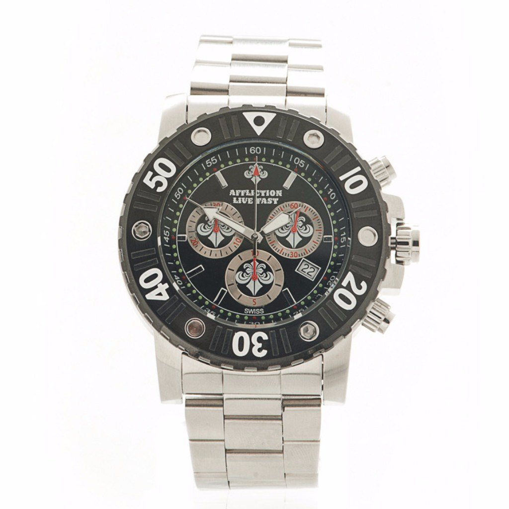 mens mma watches products music chronograph moto military watch steel gents outdoor