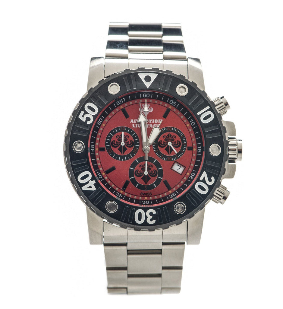 Mens Watches - Gents Chronograph Steel Watch
