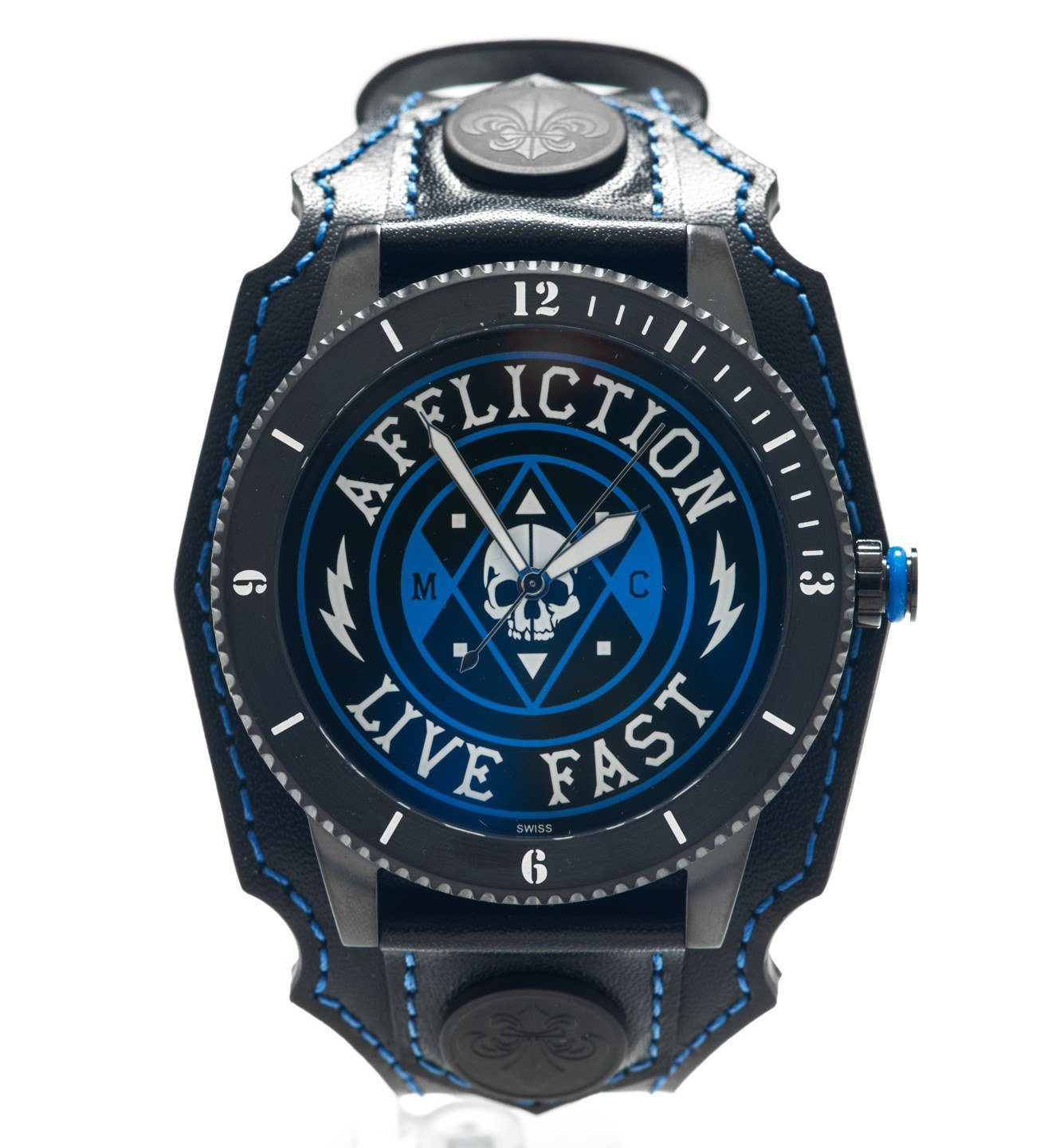 Live Fast Unisex Watch - Mens Watches - Affliction Clothing