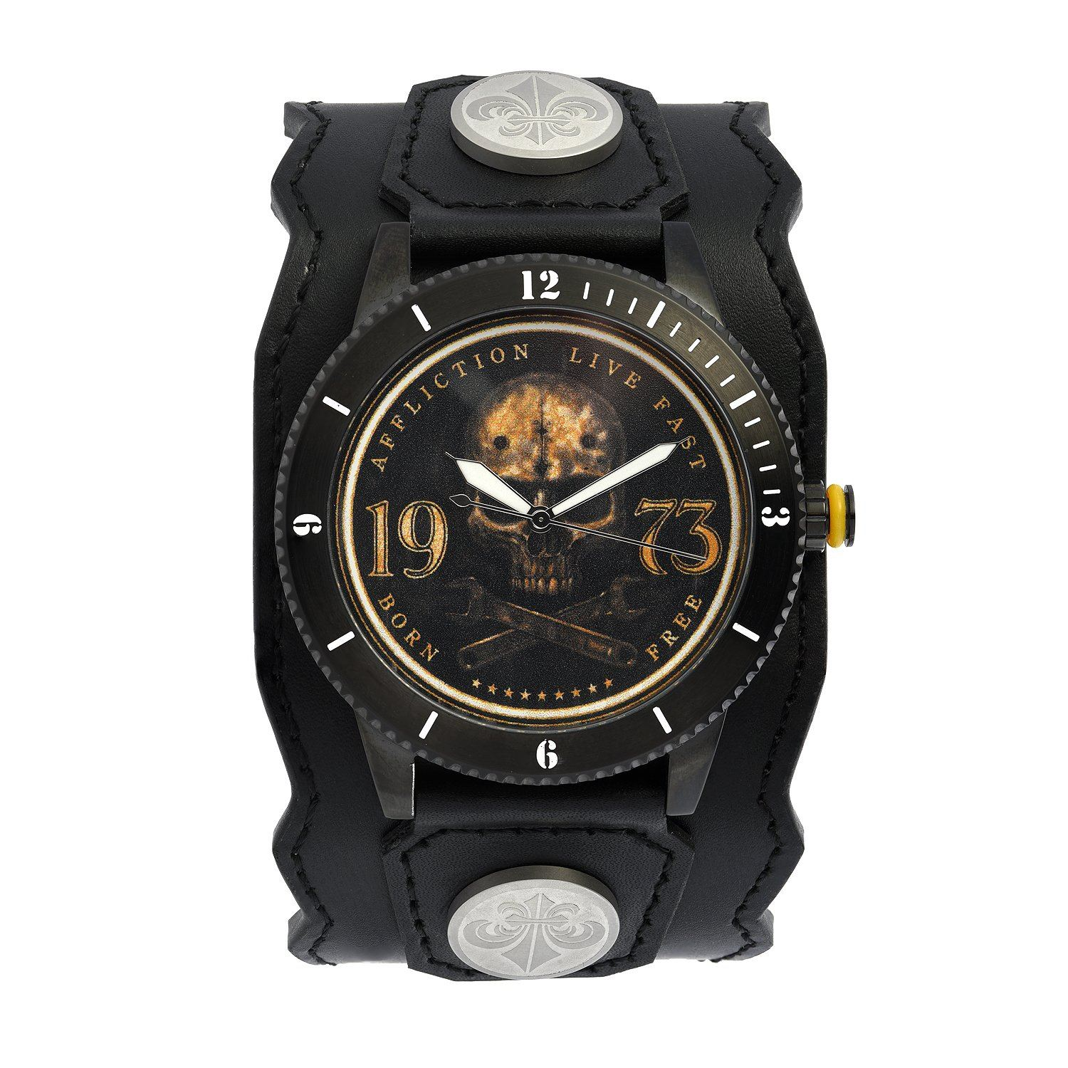 Skull 73 Watch - Mens Watches - Affliction Clothing