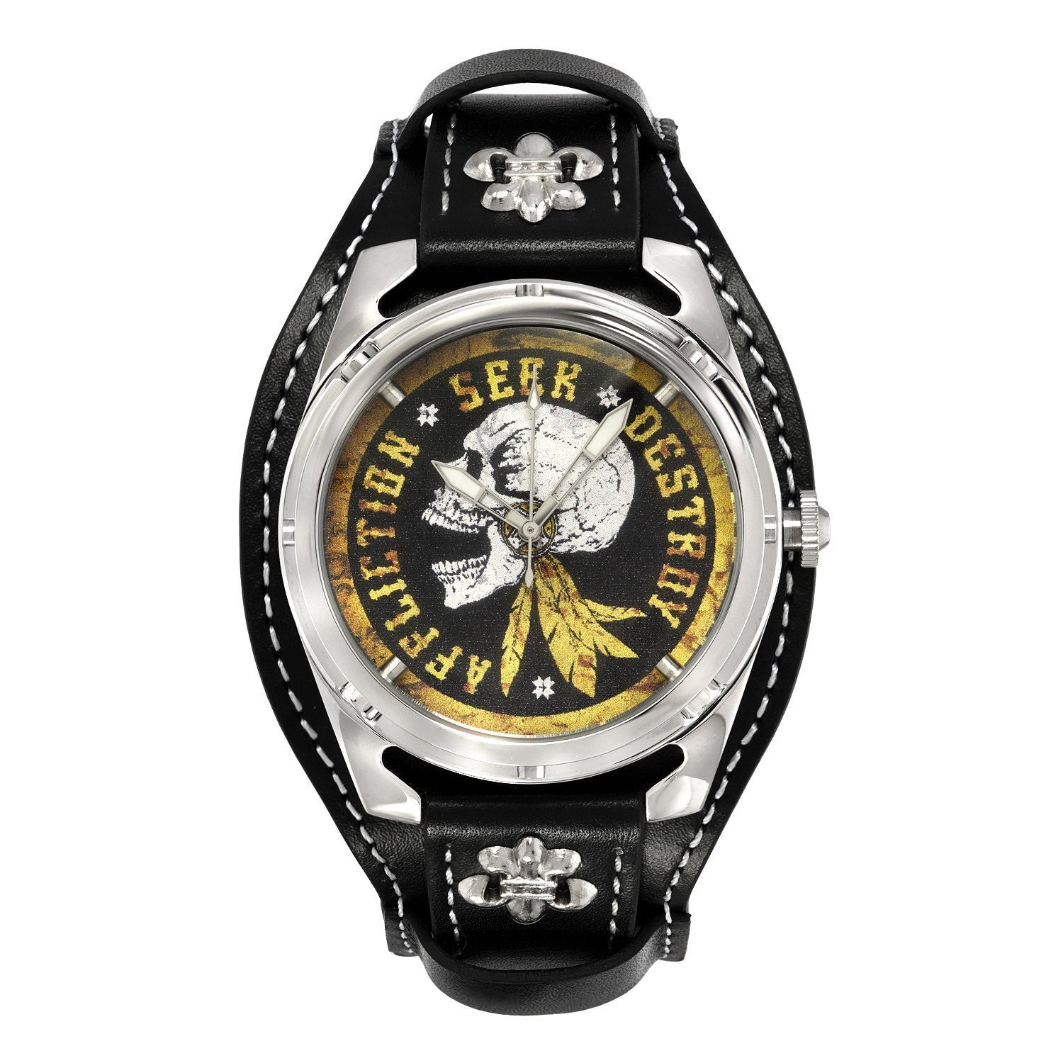 Skull Scream Watch - Mens Watches - Affliction Clothing