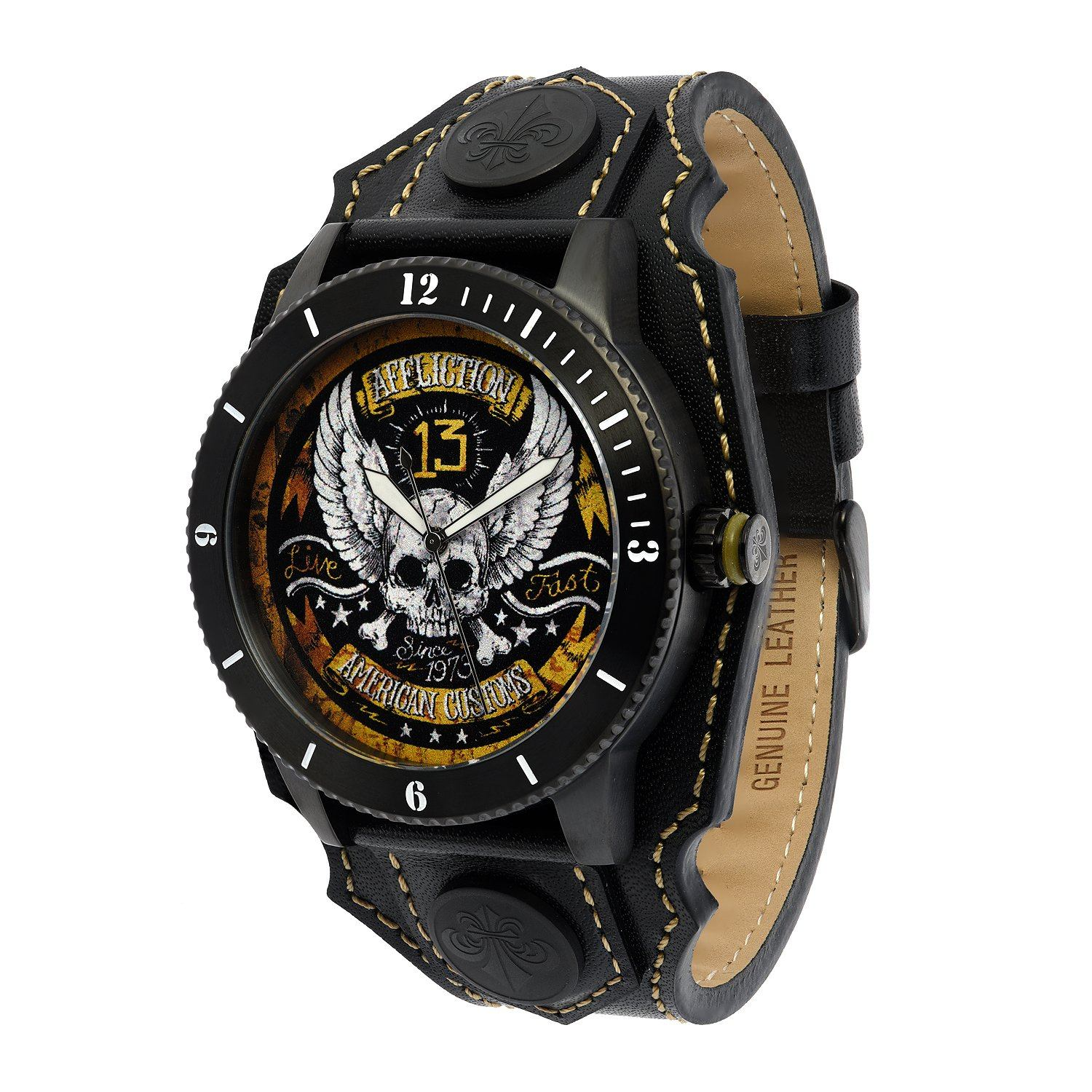 Skull Watch - Mens Watches - Affliction Clothing