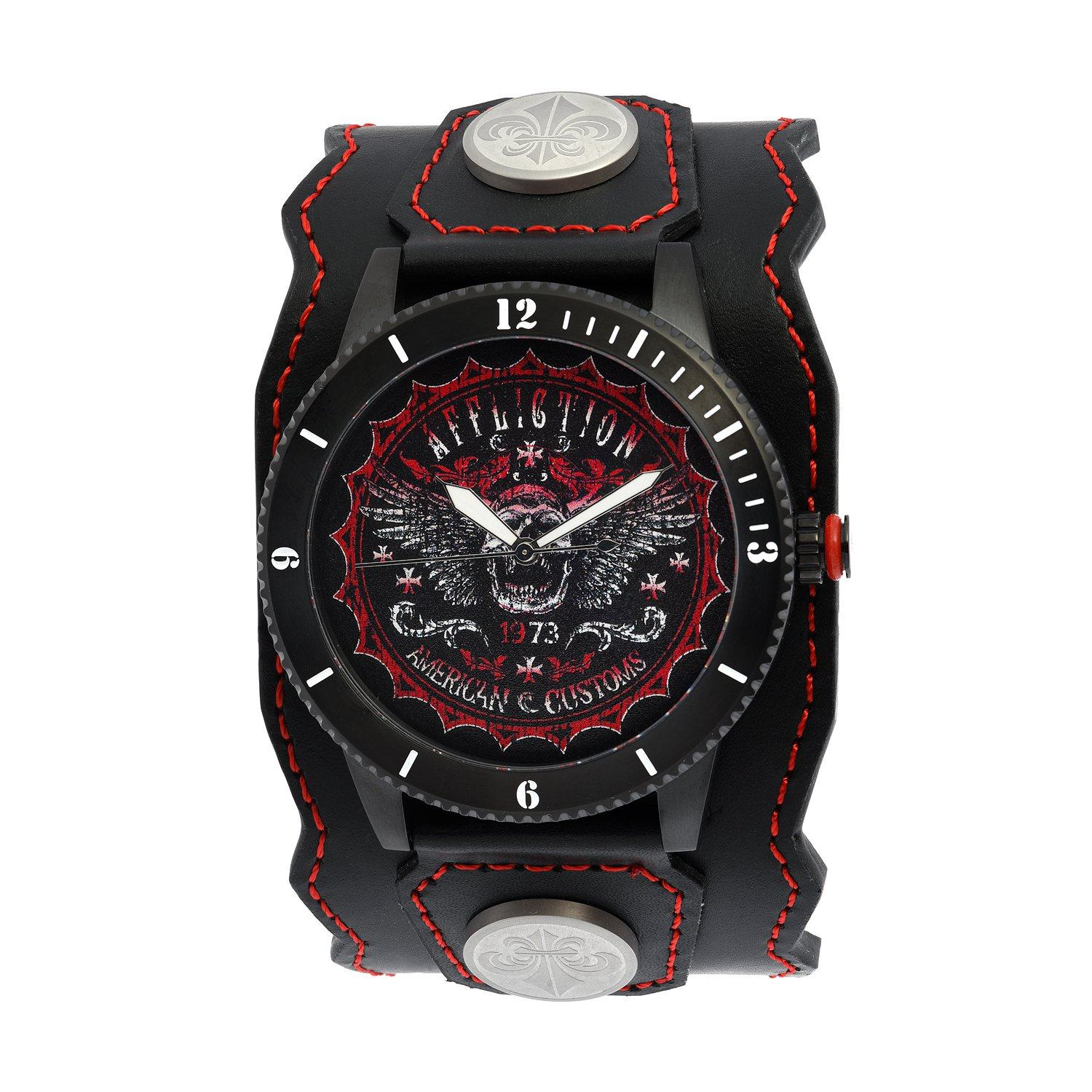 Skull Wings Watch - Mens Watches - Affliction Clothing