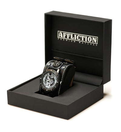 Mens Watches - Top Hat Wide Strap Watch