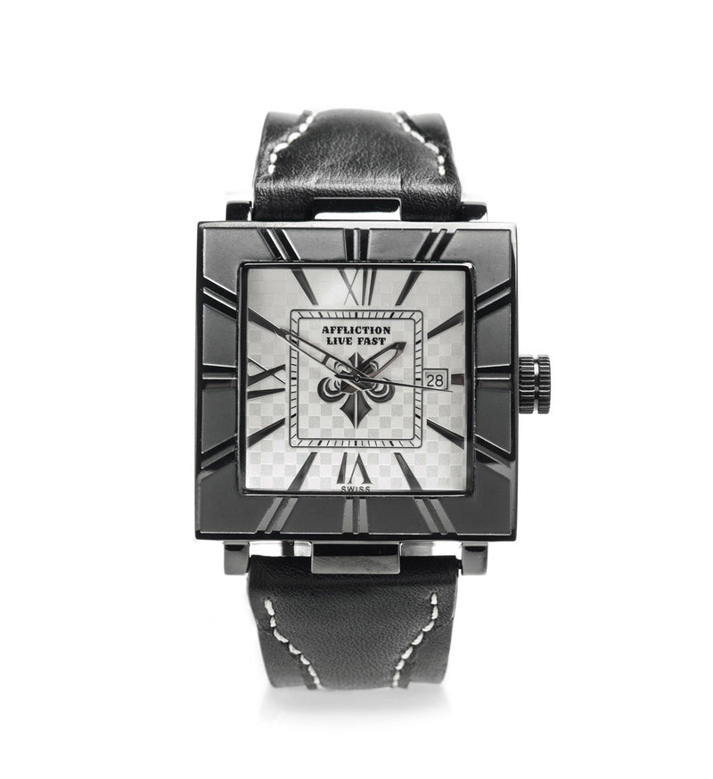 Unisex Large Square Watch - Mens Watches - Affliction Clothing
