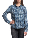 Womens Button Down Tops - Horizon