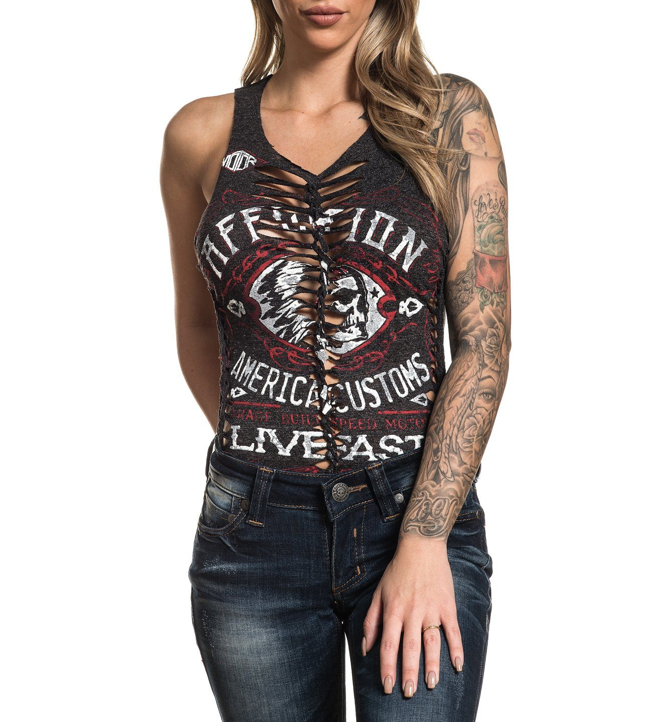 Womens Custom Crafted - Ac Moonshine Bodysuit