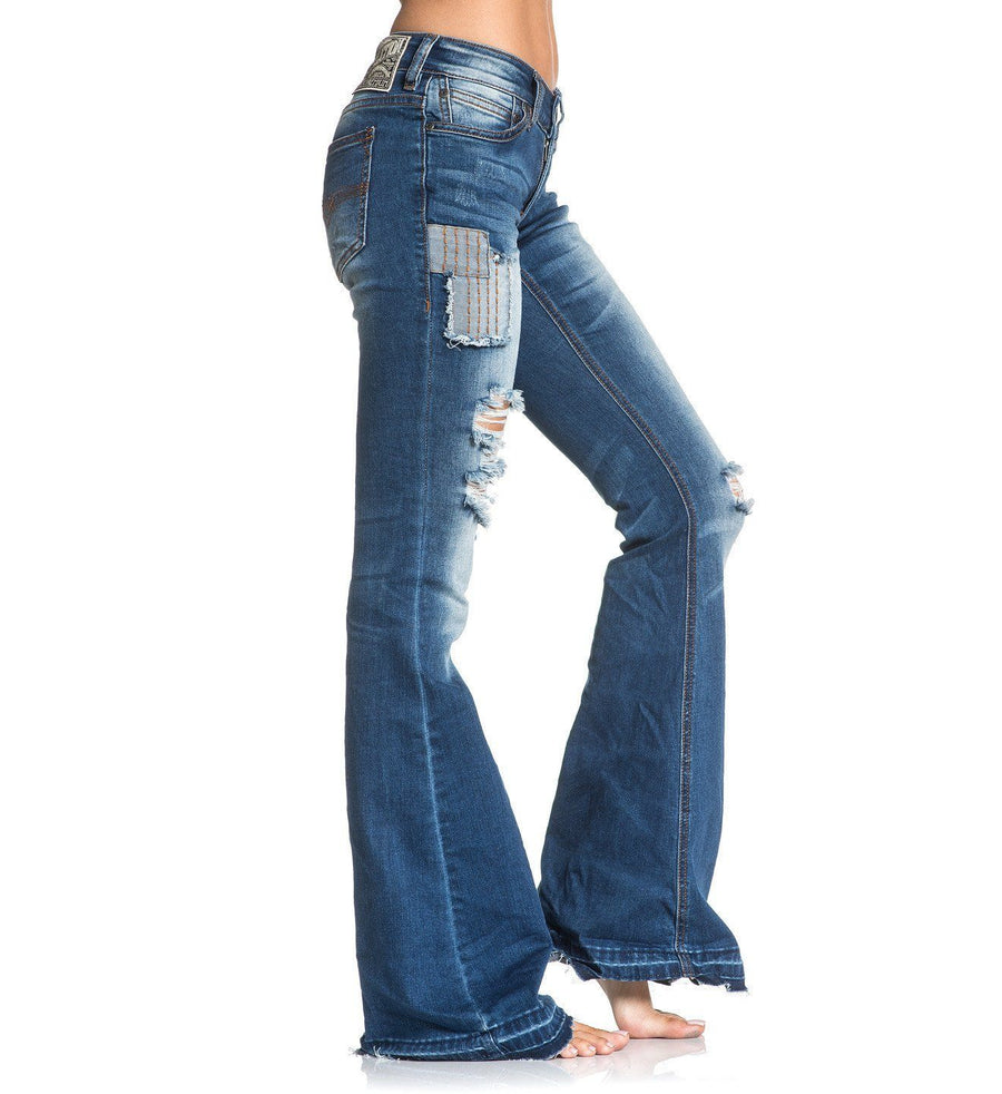 Womens Denim Bottoms - Ginger Rising Venice