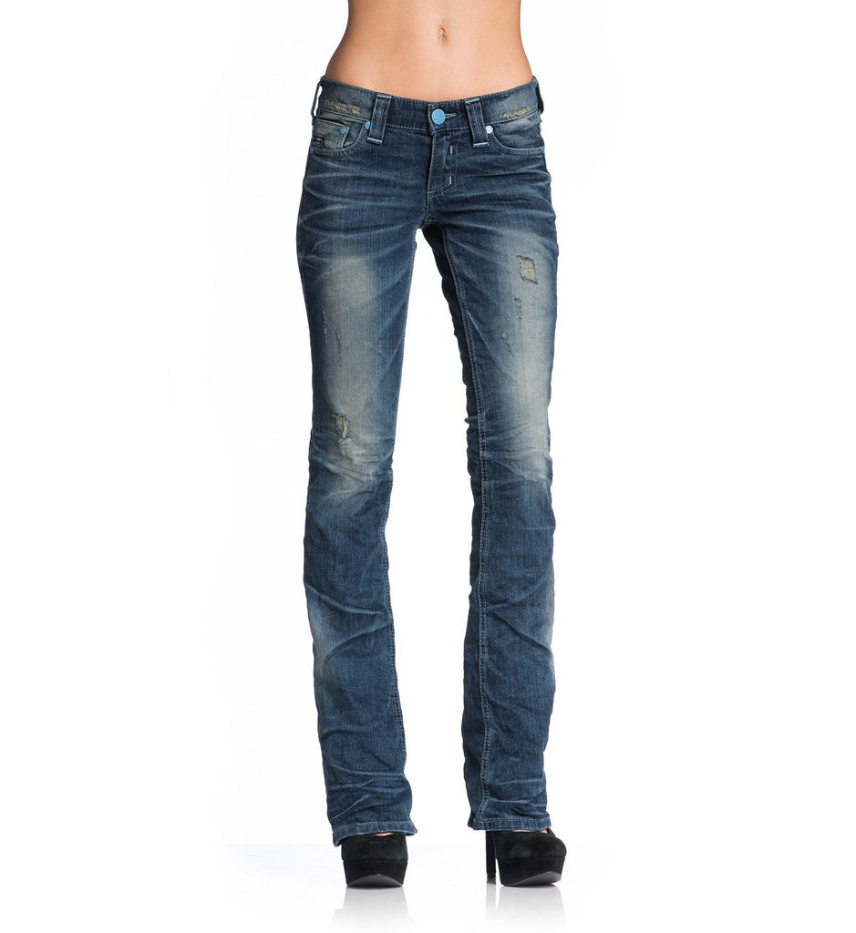 Womens Denim Bottoms - Jade Amber Hudson