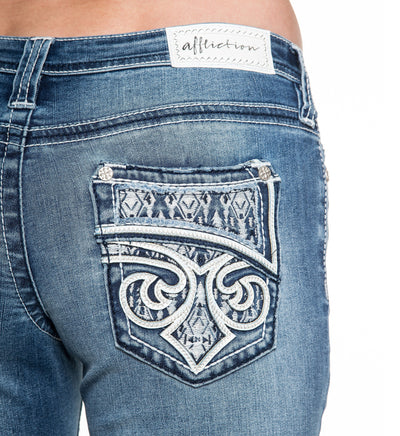 Jade Fleur Arizona - Womens Denim Bottoms - Affliction Clothing