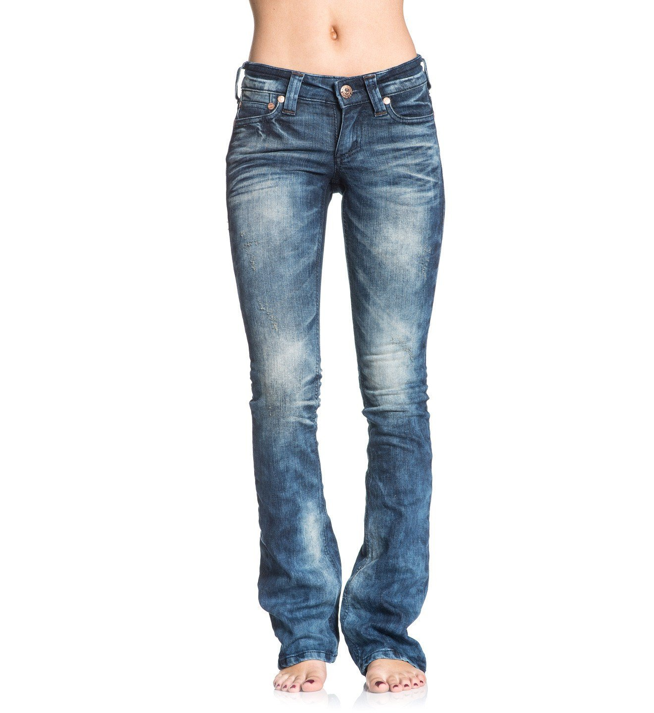 Jade Rising - Womens Denim Bottoms - Affliction Clothing