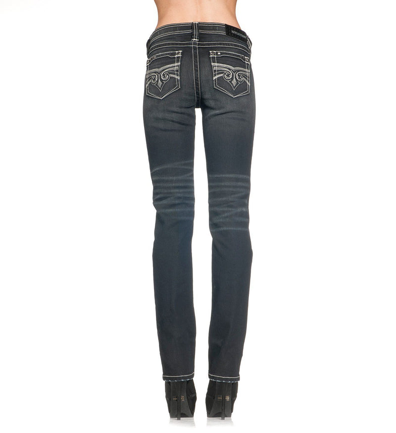 Jenna Alka Journey - Womens Denim Bottoms - Affliction Clothing