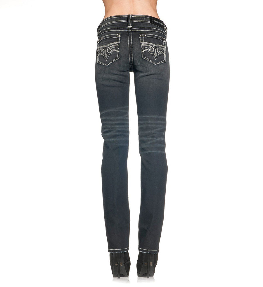 Womens Denim Bottoms - Jenna Alka Journey